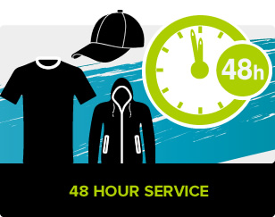 48 Hour T-Shirt Printing Service