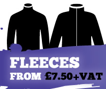 Fleeces from £7.50