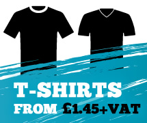 T-Shirts from £1.45